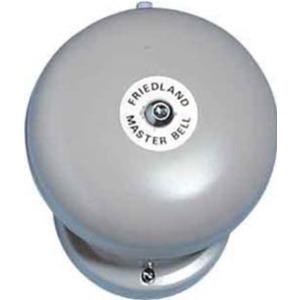 Ringeklokke 230VAC 150mm grå